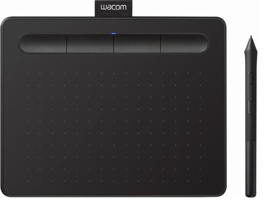 Графичен таблет Wacom Intuos S черен