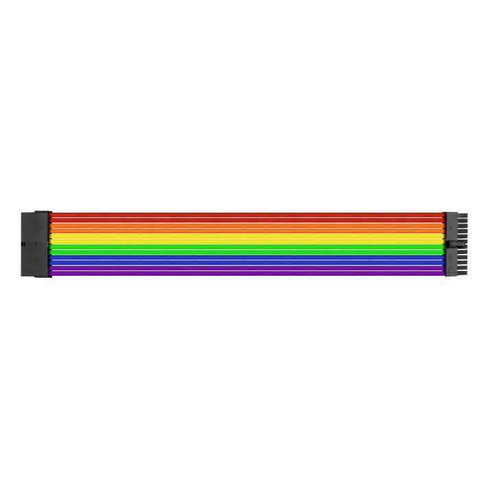 Thermaltake TtMod комплект Extension кабел Rainbow