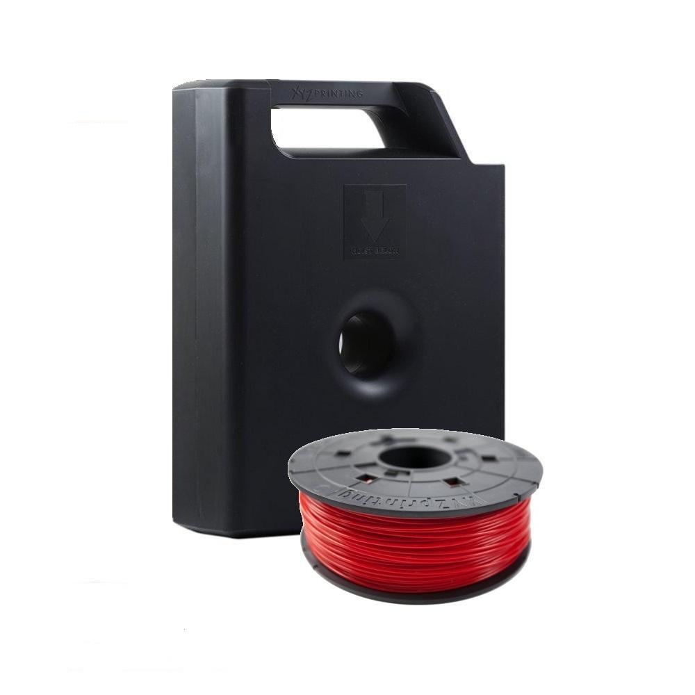 Консуматив за 3D принтер XYZprinting - PLA касета с чип , 1.75 mm, Червен
