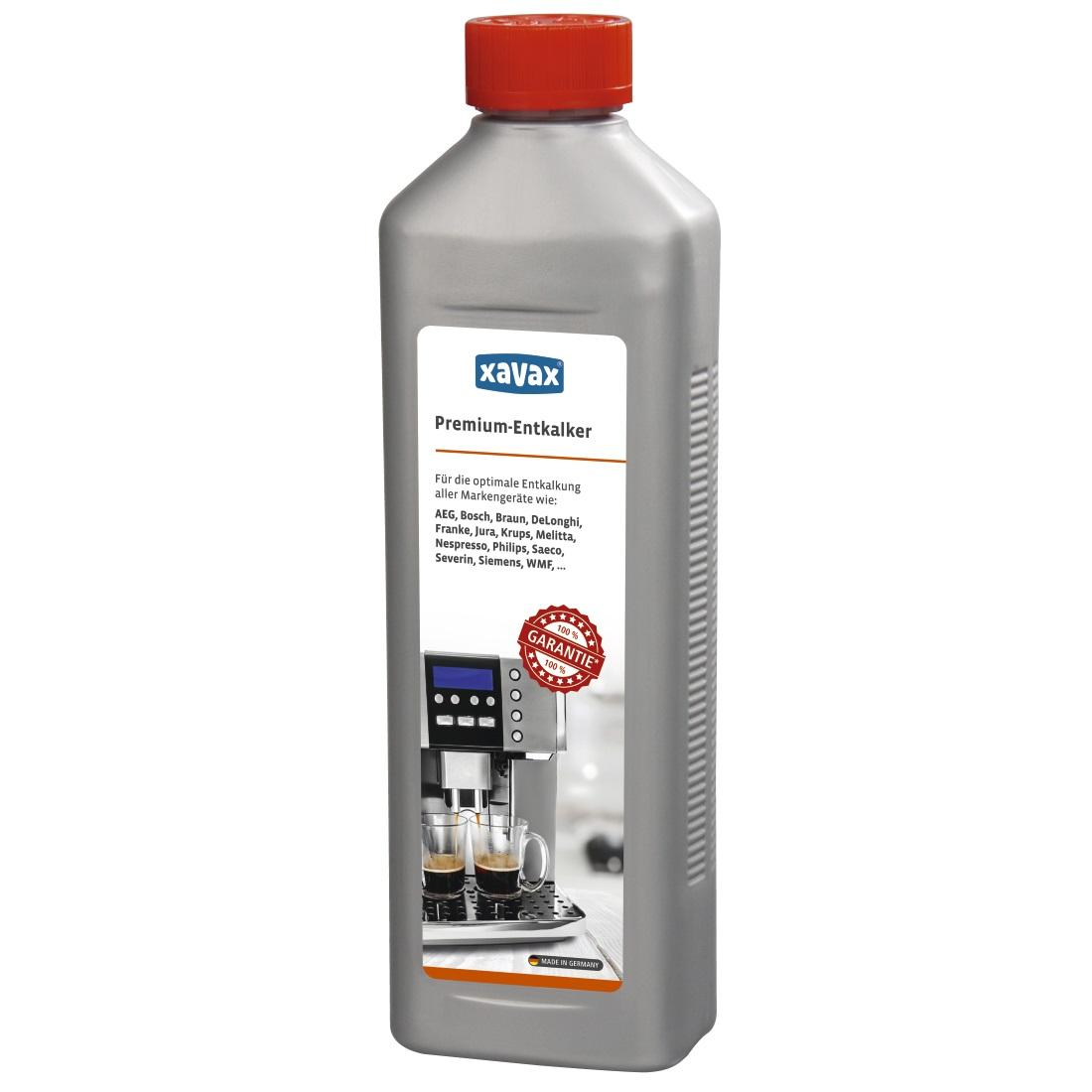Антикалциращ препарат Xavax Premium, за  кафе машини, 500 мл