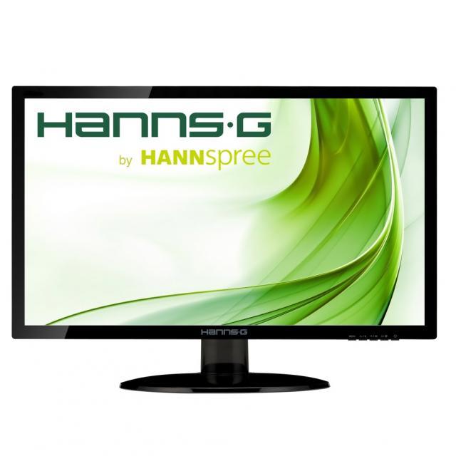 Монитор HANNSPREE HE195ANB, TFT, 18.5 inch, Wide, WXGA, D-Sub, Черен