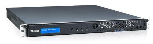 Мрежов сторидж Thecus 1U rack mount NAS N4510U PRO-R 4 диска до 32TB, Redundant power, Atom D2701 2.13Ghz, 2GB DDR3, USB2.0, USB 3.0, HDMI,VGA
