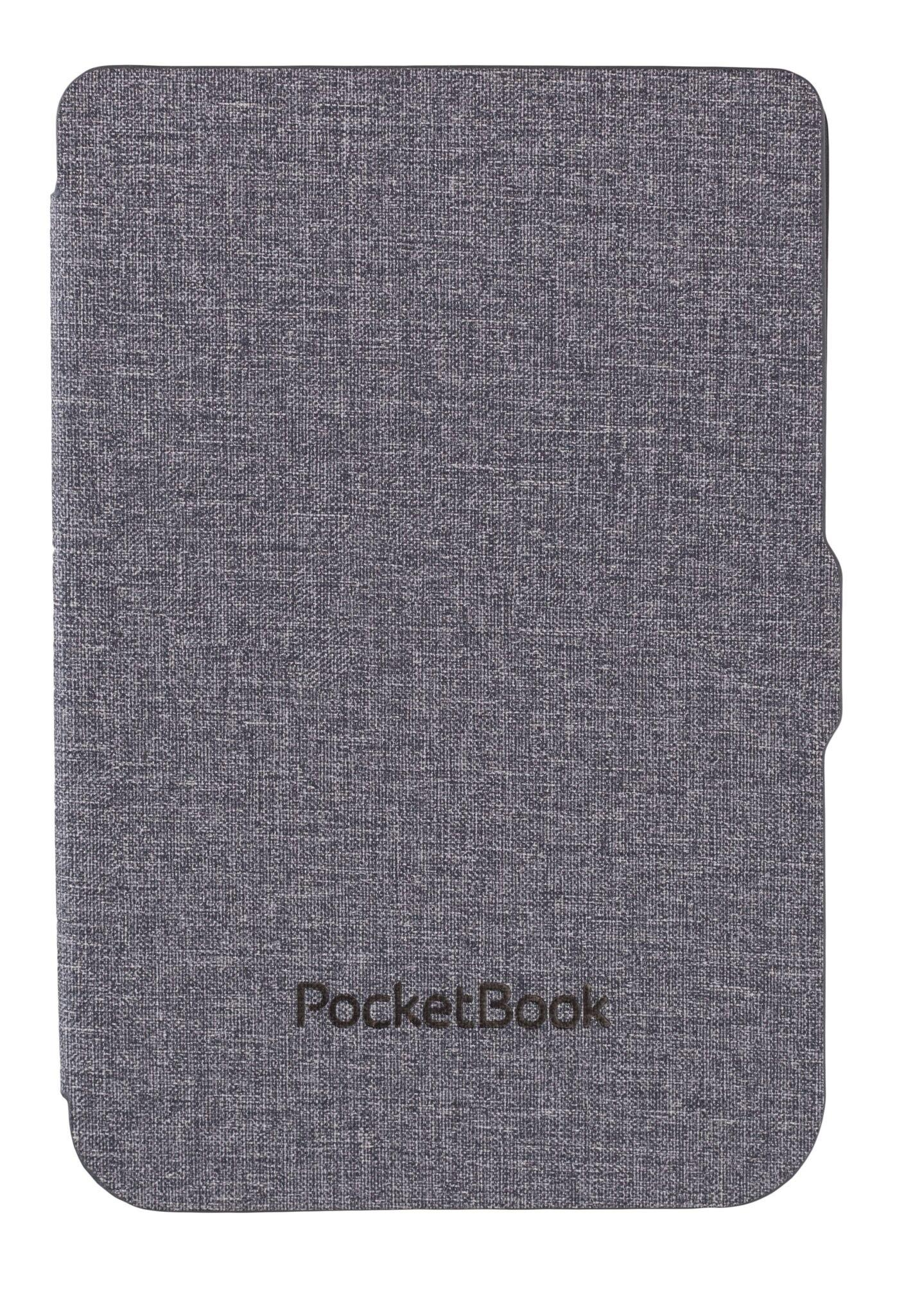 Калъф PocketBook Shell Cover Light Grey/Black за eBook четец, 6 inch, Сив