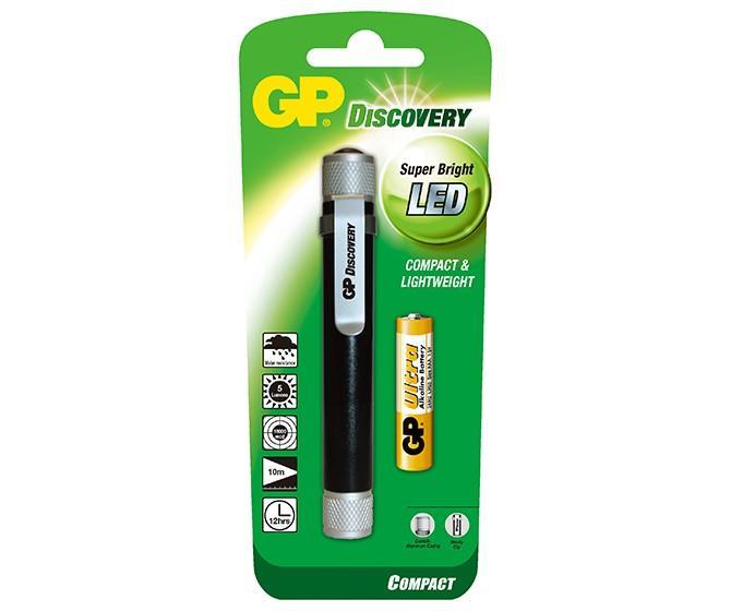 Фенер с форма на писалка GP BATTERIES LCE205 Discovery Compact 5mm LED