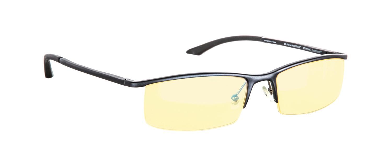 Геймърски очила GUNNAR EMISSARY Onyx, Amber, Черен