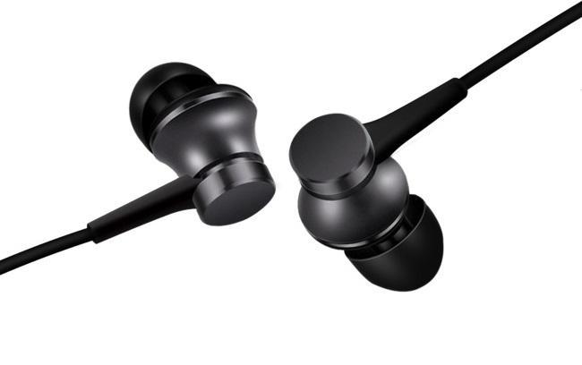 Слушалки Xiaomi Mi Basic, In-Ear, 3.5mm жак, Черен