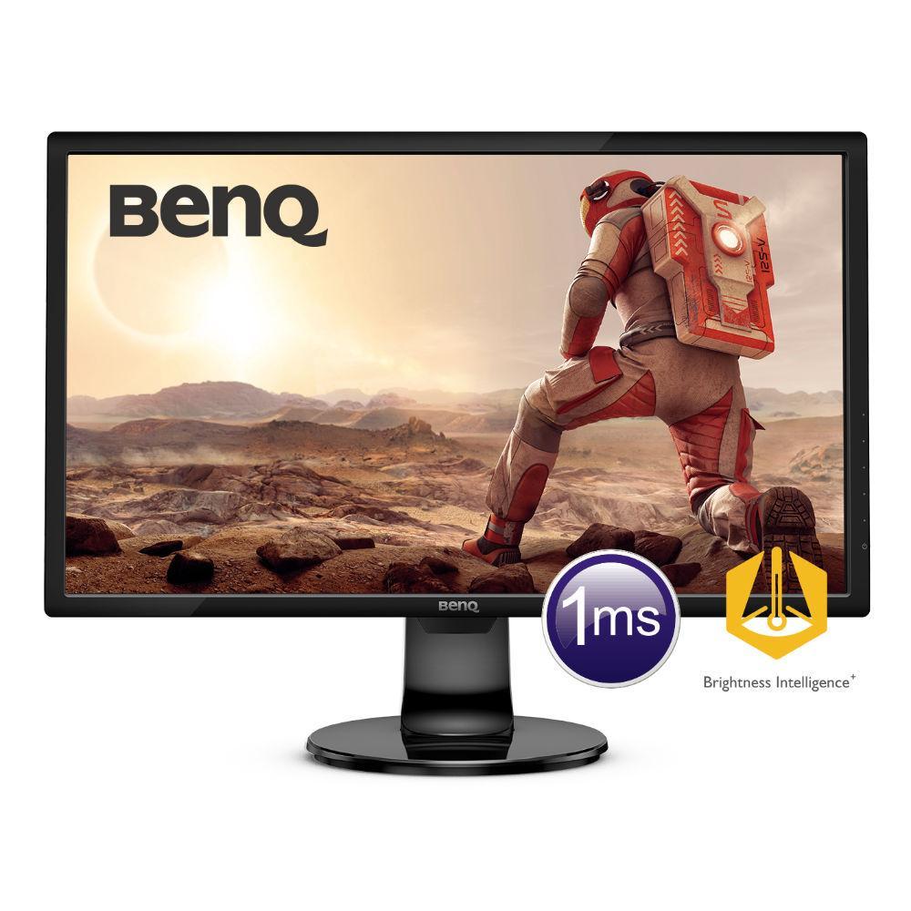 Монитор BenQ GL2460BH 75Hz, TN, 24 inch, Wide, Full HD, D-sub, DVI, HDMI, Черен