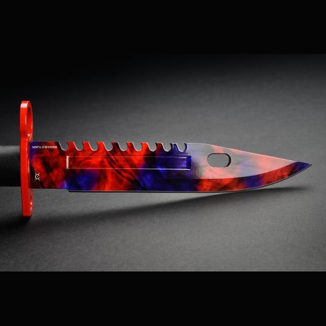 Knife Fadecase M9 Bayonet - Chroma Doppler Phase 2