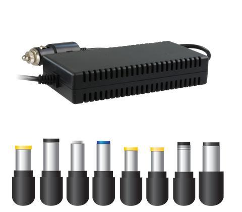 Универсално захранване(зарядно) за лаптоп за кола/камион FSP Group CAR120