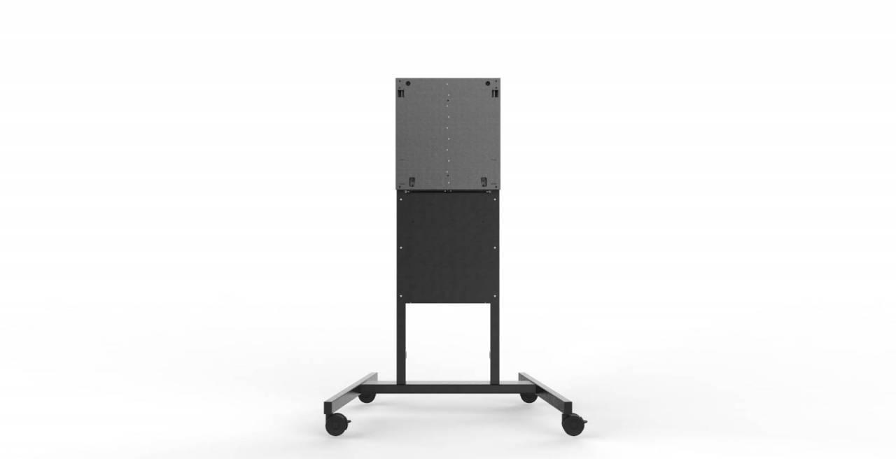 """Мобилна стойка на колелца за BalanceBox 400 с поставка за лаптоп за публични и инт. дисплеи до 86"""""""