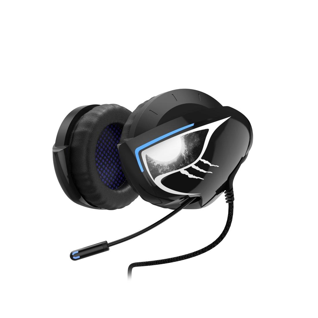 Геймърски слушалки Hama uRage SoundZ 500 Neckband, USB, ерни