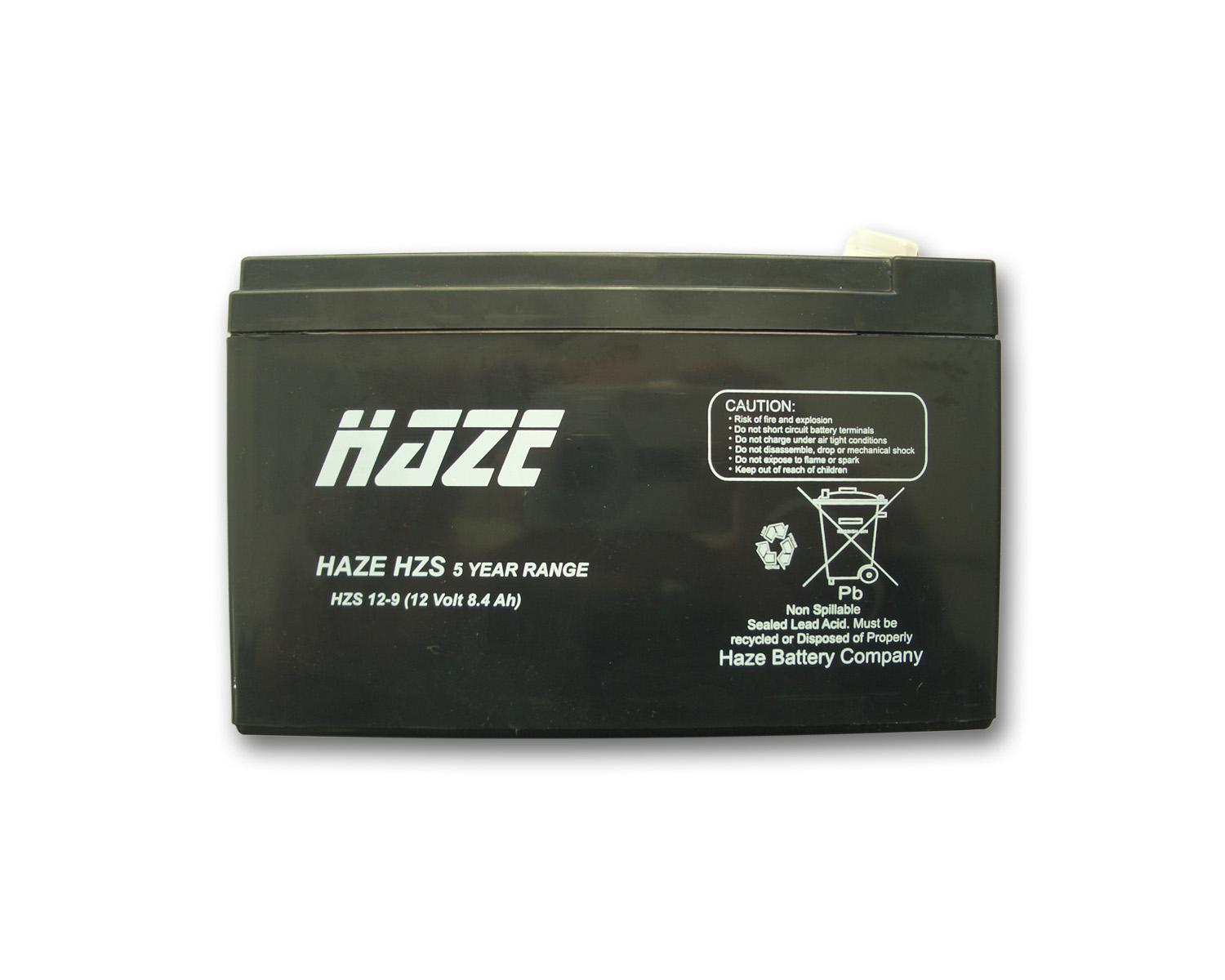 Оловна Батерия Haze (HZS12-9) 12 V / 9Ah - 151 / 65 / 94 mm AGM
