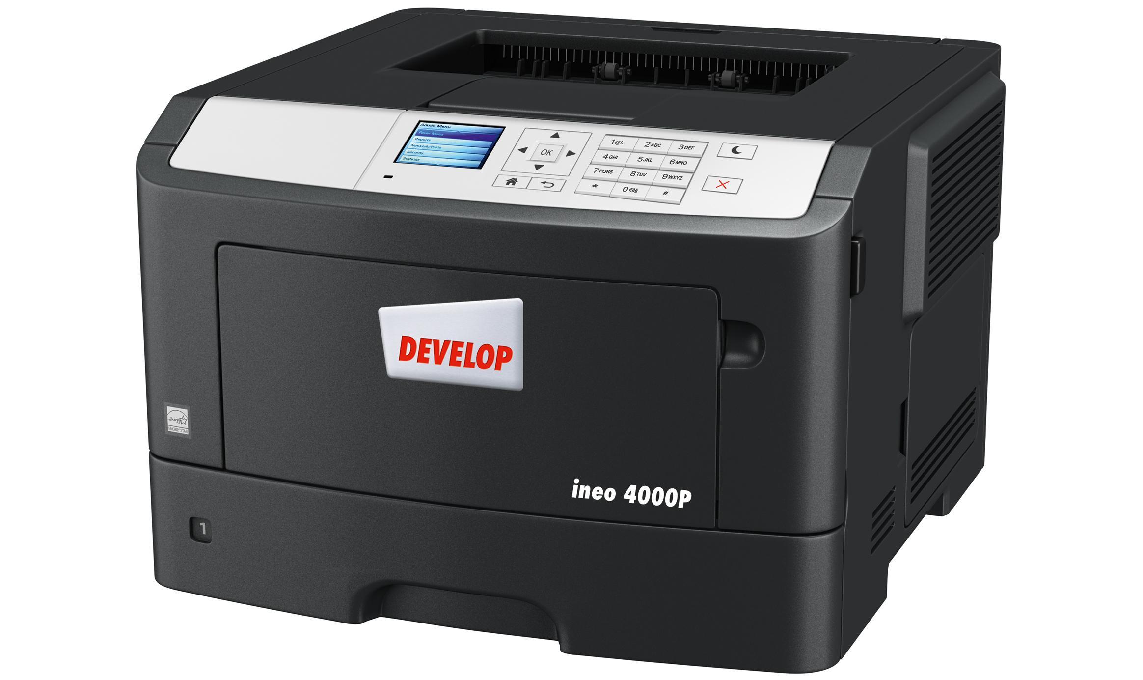 Монохромен лазерен принтер DEVELOP ineo 4000P, A4