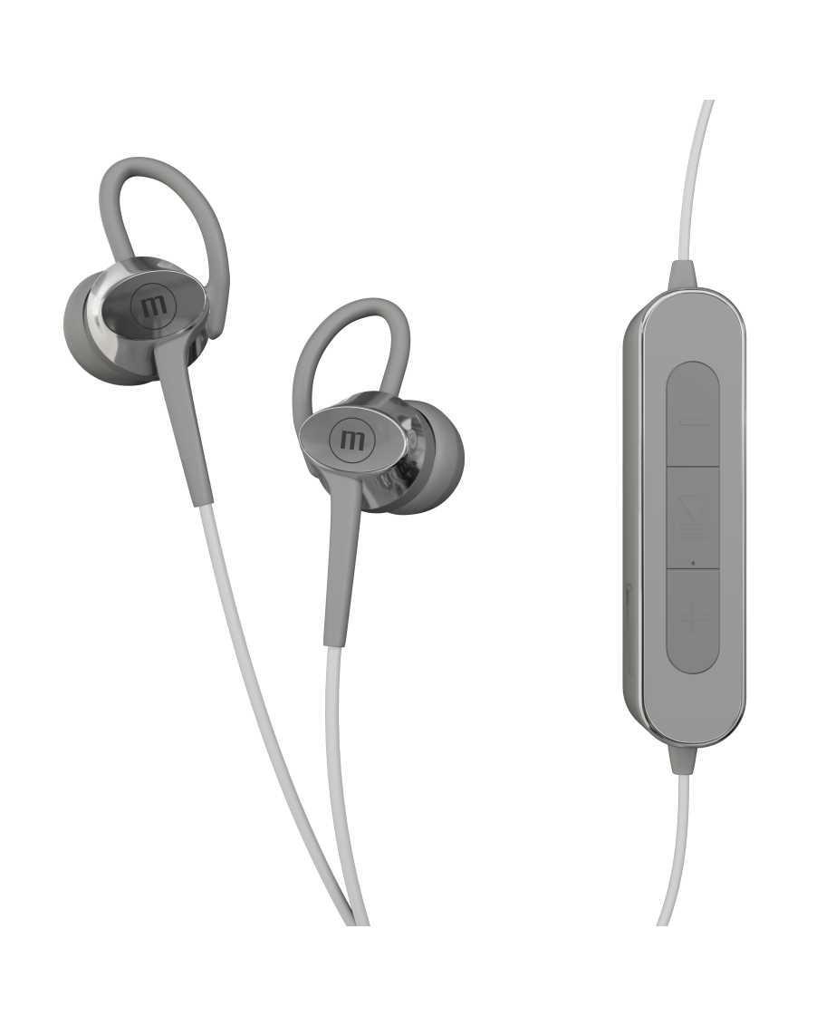 Блутут слушалки Maxell BT Fusion, silver