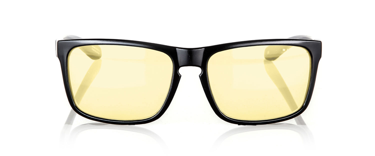 Геймърски очила GUNNAR INTERCEPT Onyx, Amber, Черни