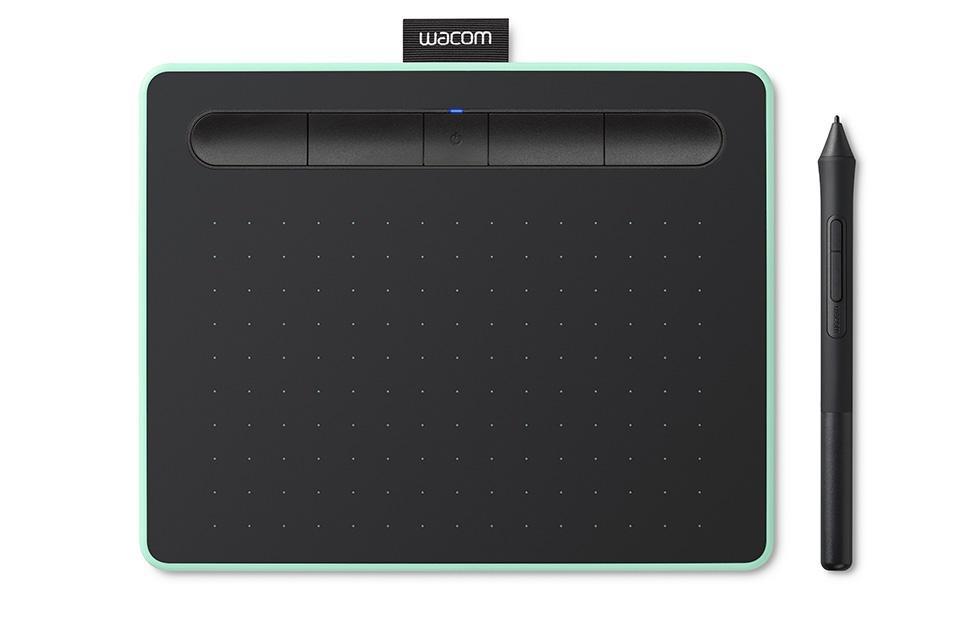 Графичен таблет Wacom Intuos S Bluetooth,  зелен
