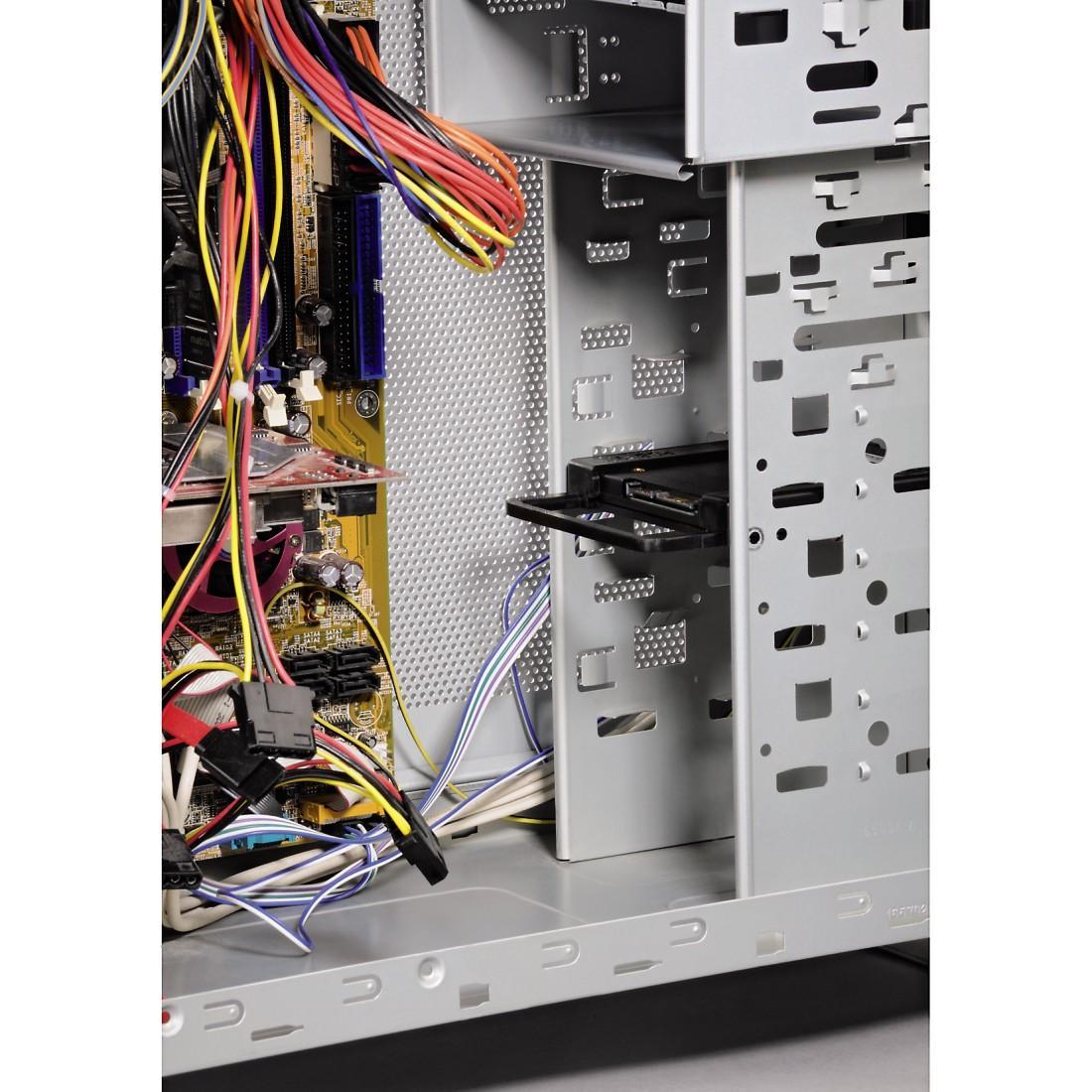 """Монтажна рамка HAMA 39830, за монтаж на 2.5 """" в гнездо  3.5"""", за SSD твърди дискове"""