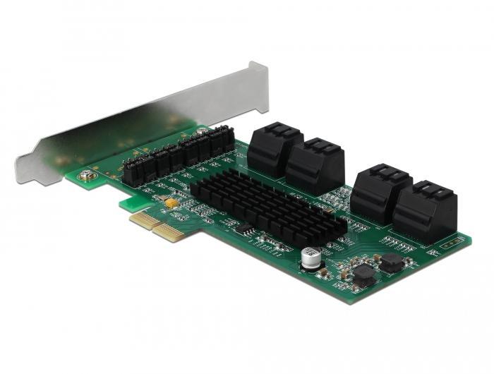 Контролер Delock SATA PCI Express Card - 8 ports