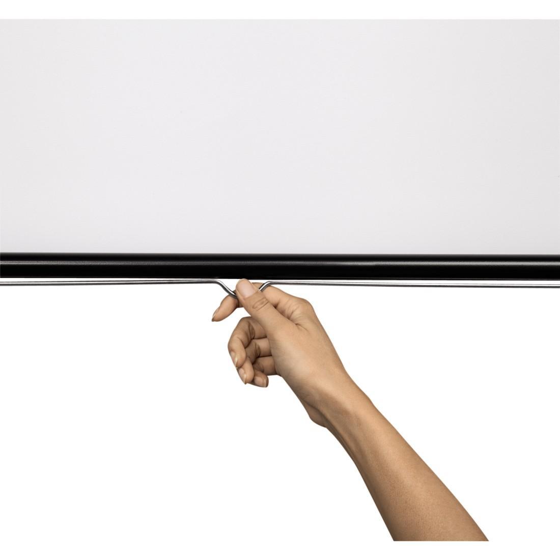 Проекторен екран за стена HAMA 17798, 240 x 200, 1:1