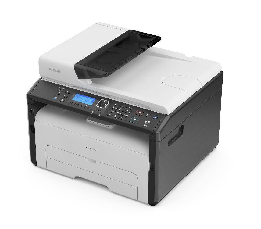 Мултифункционално принтер/скенер/копир лазерно устройство RICOH SP 220SNw, A4, LAN, USB, Wi-Fi