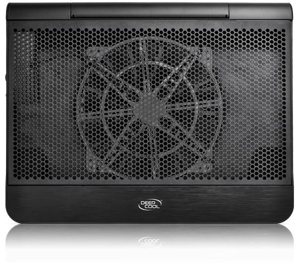 """Охладител за лаптоп DeepCool N6000, 17"""", 200 mm, LED, Черен"""