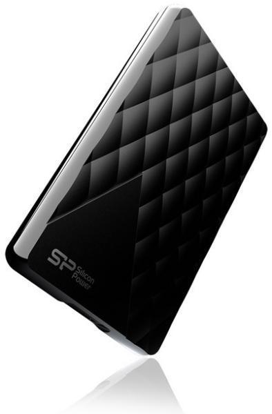 """Външен хард диск SILICON POWER Diamond D06, 2.5"""", 2TB, USB3.0, подарък Blaze B20 16GB"""
