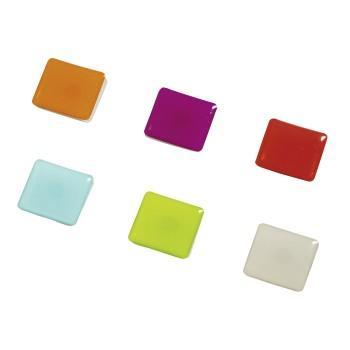 "Цветни магнити ""Square"", 6 бр."