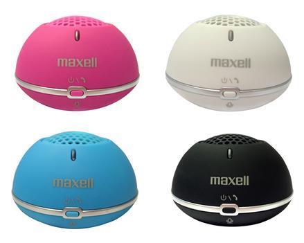 Тонколонка за мобилни устройства MAXELL MXSB BT01-10, 2W, Розов