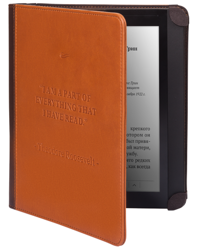 Калъф Pocketbook Cover InkPad 840 braun за eBook четец , 8 inch, Кафяв