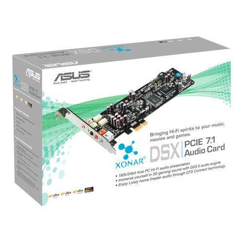 Звукова карта Asus Xonar DSX, PCI-EX, 7.1