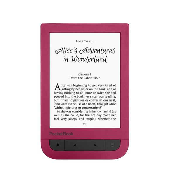 "eBook четец POCKETBOOK Touch HD 6"" PB631, Червен"