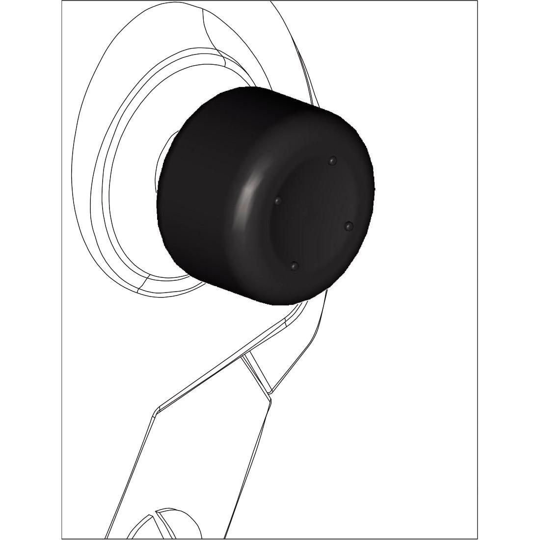 Сменяеми бутончета HAMA 115595 за Xbox One/One S комплект 8in1, Черен