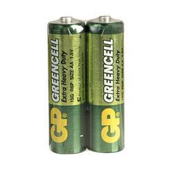 Цинк карбонова батерия GP R6 /2 бр. в опаковка/ shrink 1.5V