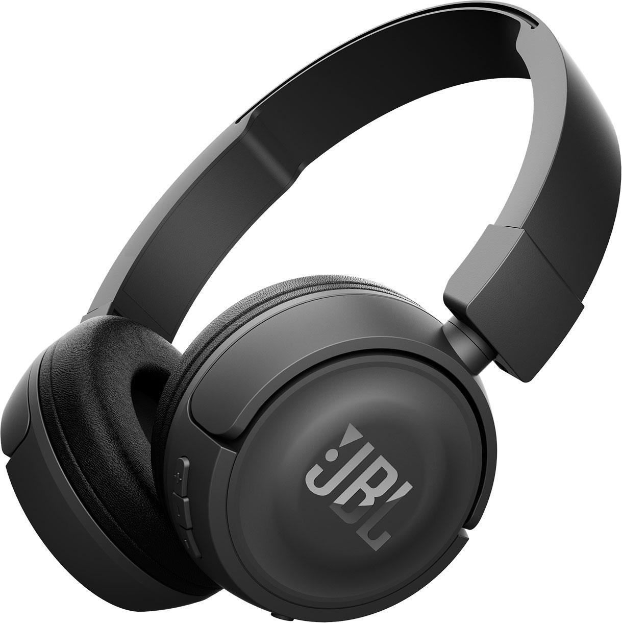 Блутут слушалки JBL T450BT, Черен