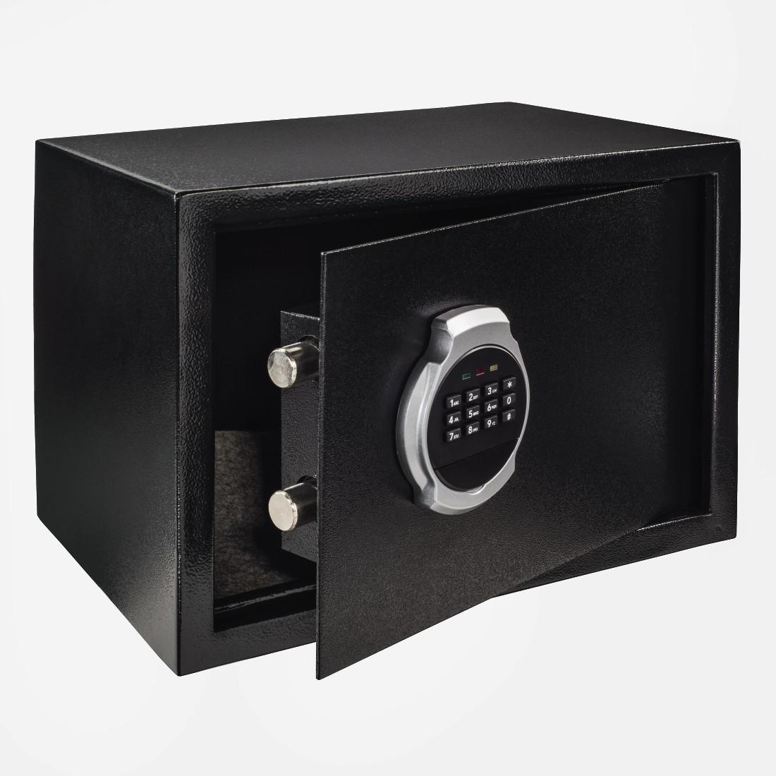 Електронен сейф HAMA Premium EP-250, 35 x 25 x 25 cm, Черен