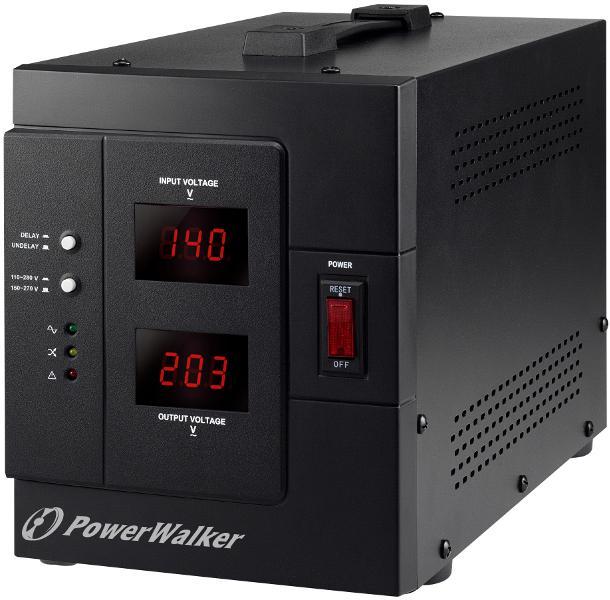 Стабилизатор POWERWALKER AVR 3000 SIV, 3000 VA