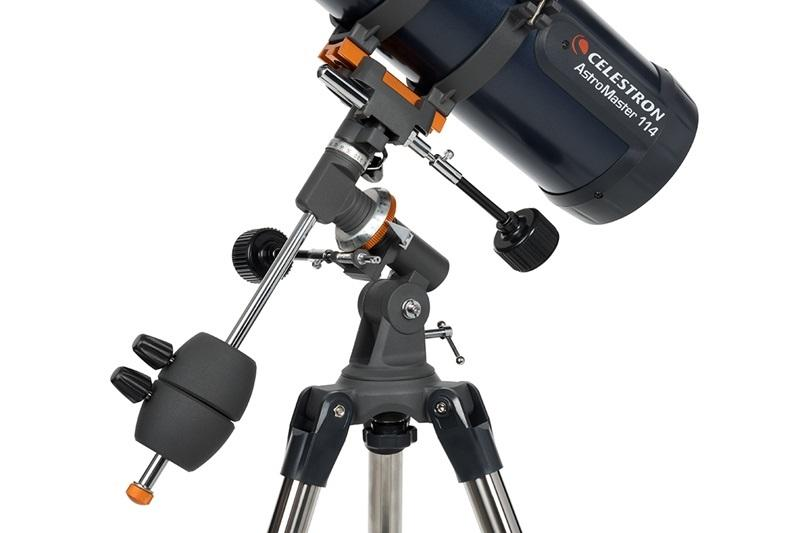 Телескоп Celestron AstroMaster 114EQ, Нютонов рефлектор