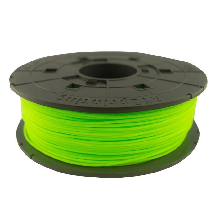 Консуматив за 3D принтер XYZprinting - PLA (NFC) filament, 1.75 mm, neon GREEN