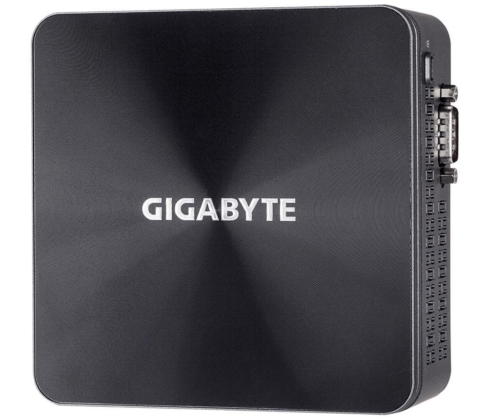 Мини компютър Gigabyte Brix BRi3H-10110, Intel® Core™ i3-10110U, 2 x SO-DIMM DDR4, M.2 SSD,HDD/SSD,USB Type-C™, WF+BT, черен