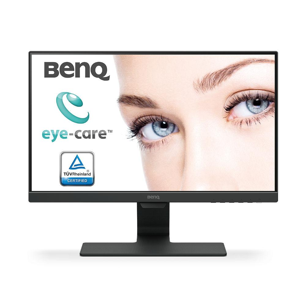 Монитор BenQ GW2280, VA, 21.5 inch, Wide, Full HD, D-sub, HDMI, Черен, 5 год.гаранция