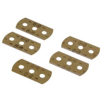 Резервни остриета за шпатула Xavax, за почистване на керамични плотове, 5 броя