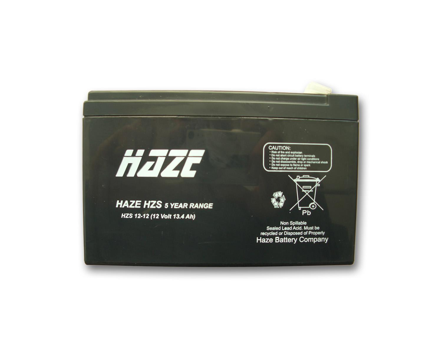Оловна Батерия Haze (HZS12-12) 12 V / 12 Ah- 152 / 98 / 96 mm AGM