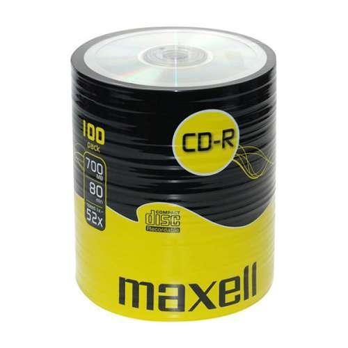 CD-R80 MAXELL, 700MB, 52x, 100 бр