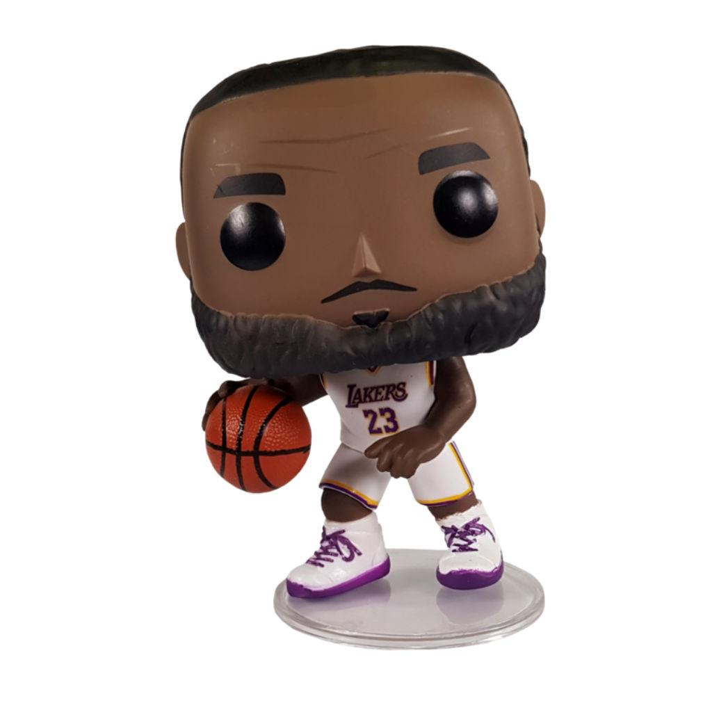 Фигурка Funko POP! Basketball NBA: Lakers - Lebron James (White Uniform) #52