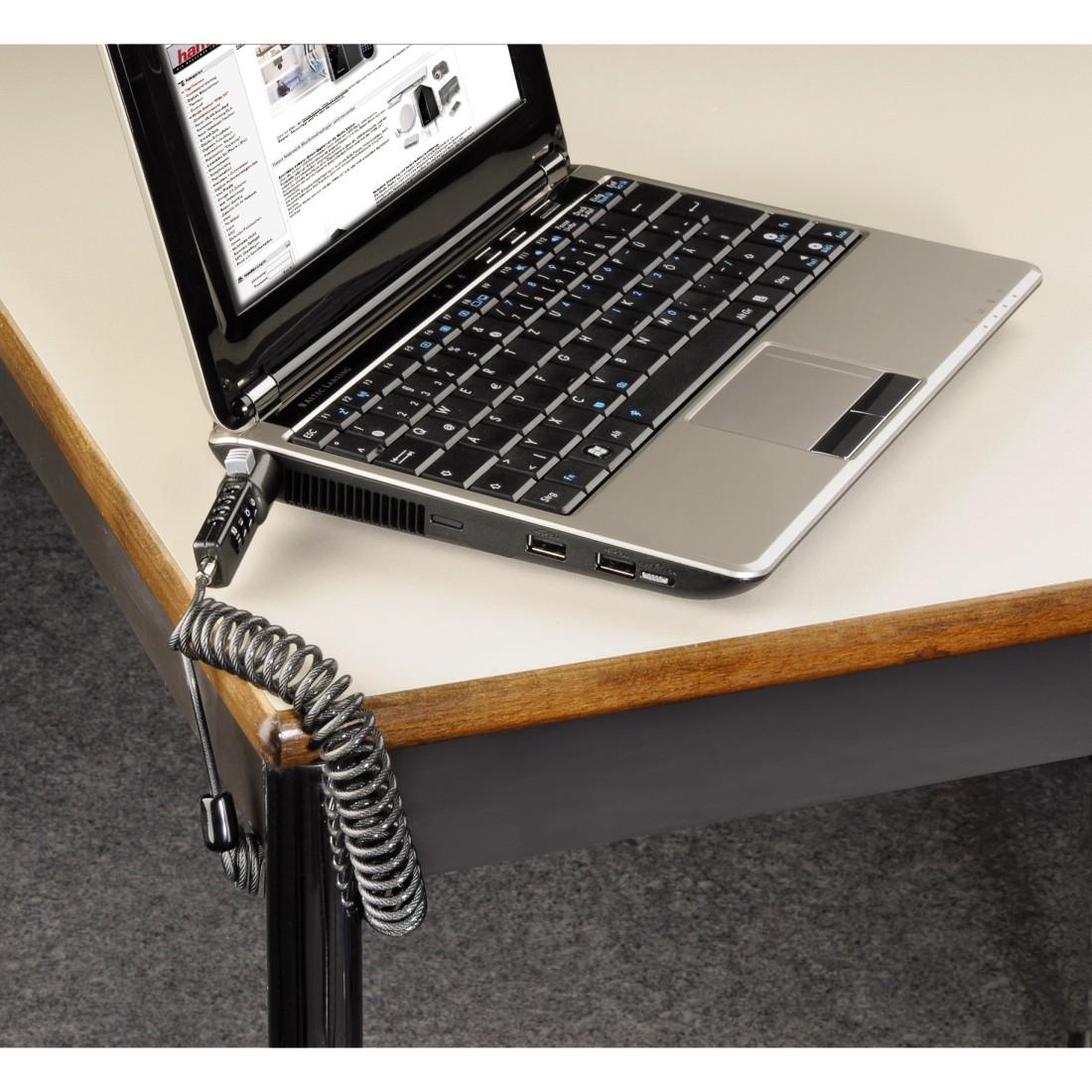 Цифрово заключващо устройство за лаптоп HAMA Lock 54106 , 100 cm