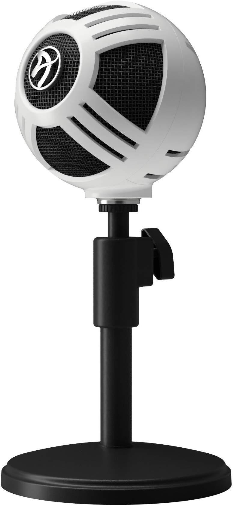 Настолен микрофон Arozzi Sfera White