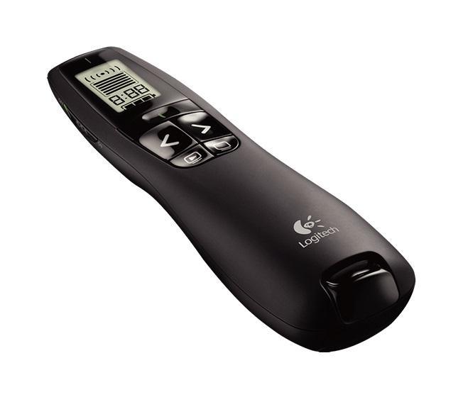 Безжичен презентер Logitech R700, Черен