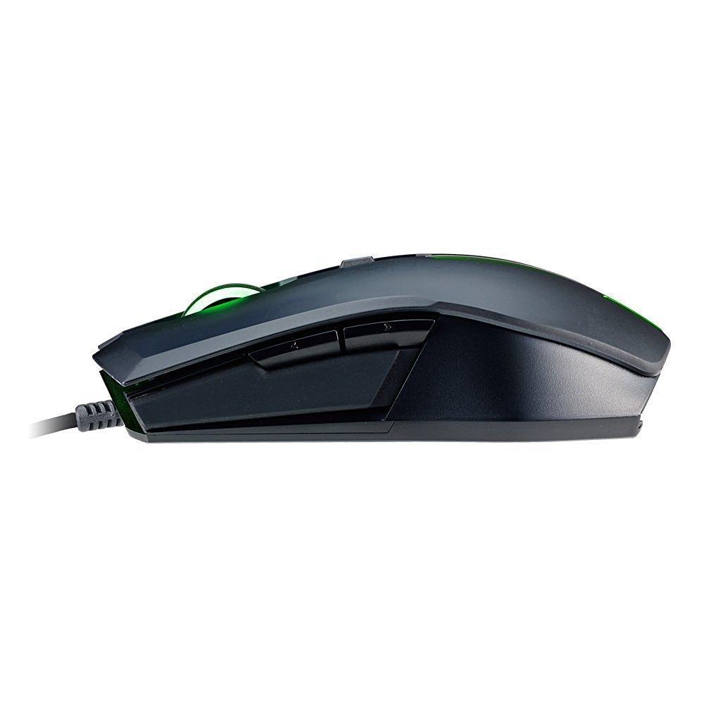 Геймърски комплект мишка с клавиатура Cooler Master, Devastator2, Зелен