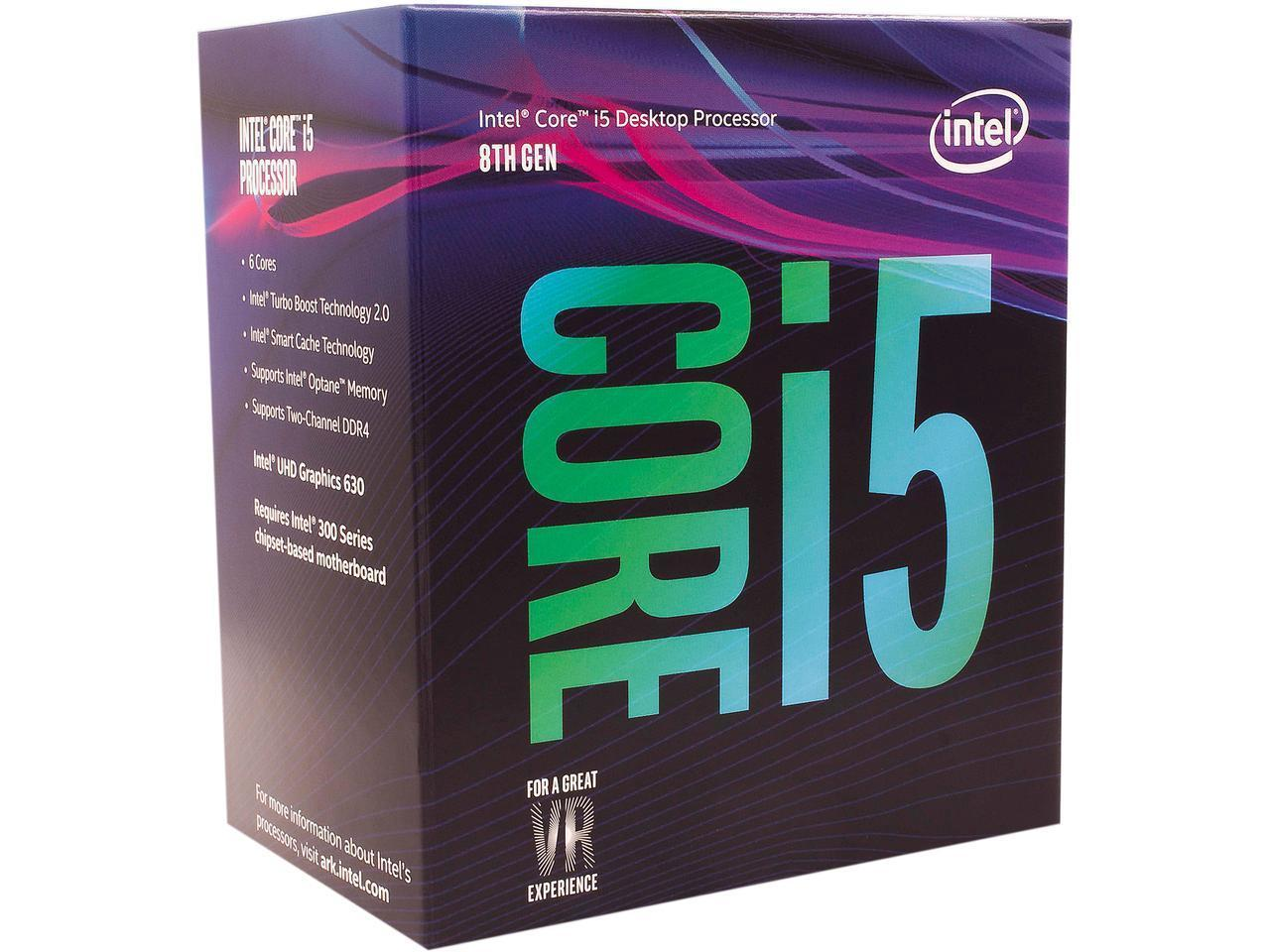 Процесор Intel Coffee Lake Core i5-8600 3.1GHz (up to 4.30GHz ), 9MB, 65W LGA1151 (300 Series)