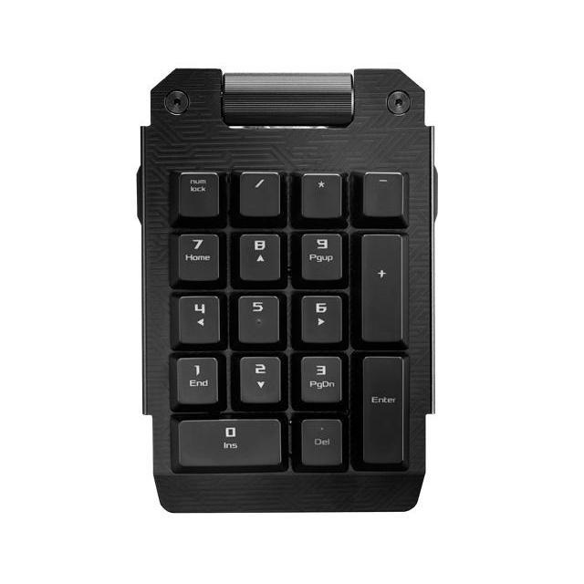 Геймърска механична клавиатура Asus ROG Claymore Cherry MX Brown RGB Aura Sync